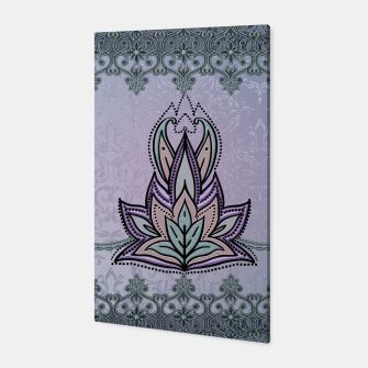 Thumbnail image of Wonderful abstract flower, mandala Canvas, Live Heroes