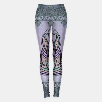 Thumbnail image of Wonderful abstract flower, mandala Leggings, Live Heroes