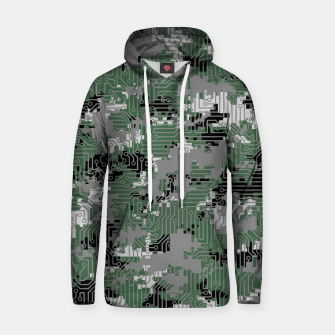 Thumbnail image of Computer Circuit Camo URBAN GAMER Hoodie, Live Heroes