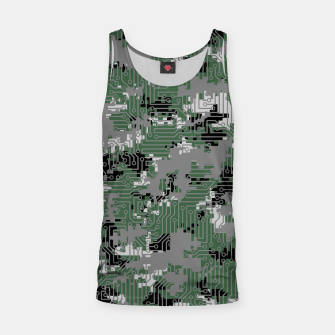 Thumbnail image of Computer Circuit Camo URBAN GAMER Tank Top, Live Heroes