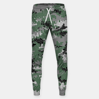 Thumbnail image of Computer Circuit Camo URBAN GAMER Sweatpants, Live Heroes