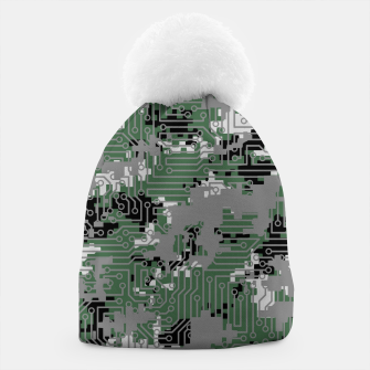 Thumbnail image of Computer Circuit Camo URBAN GAMER Beanie, Live Heroes