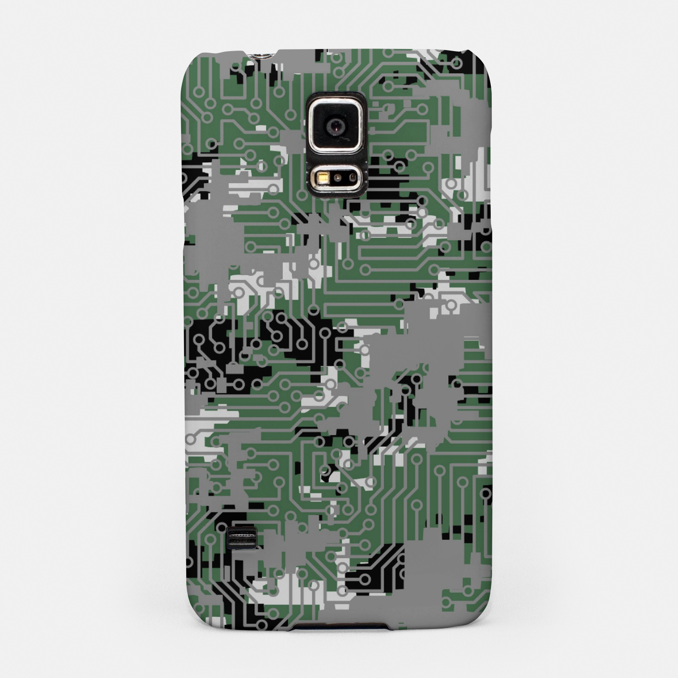 Image of Computer Circuit Camo URBAN GAMER Samsung Case - Live Heroes