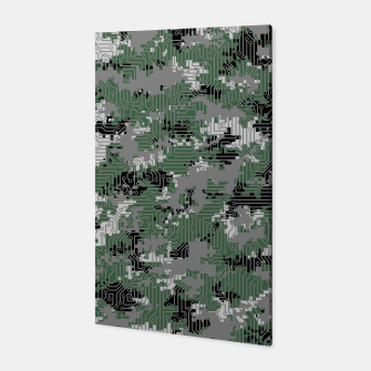 Thumbnail image of Computer Circuit Camo URBAN GAMER Canvas, Live Heroes