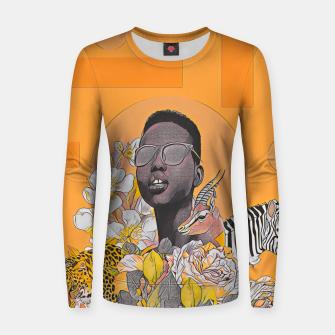 Thumbnail image of IN DA JUNGLE Women sweater, Live Heroes