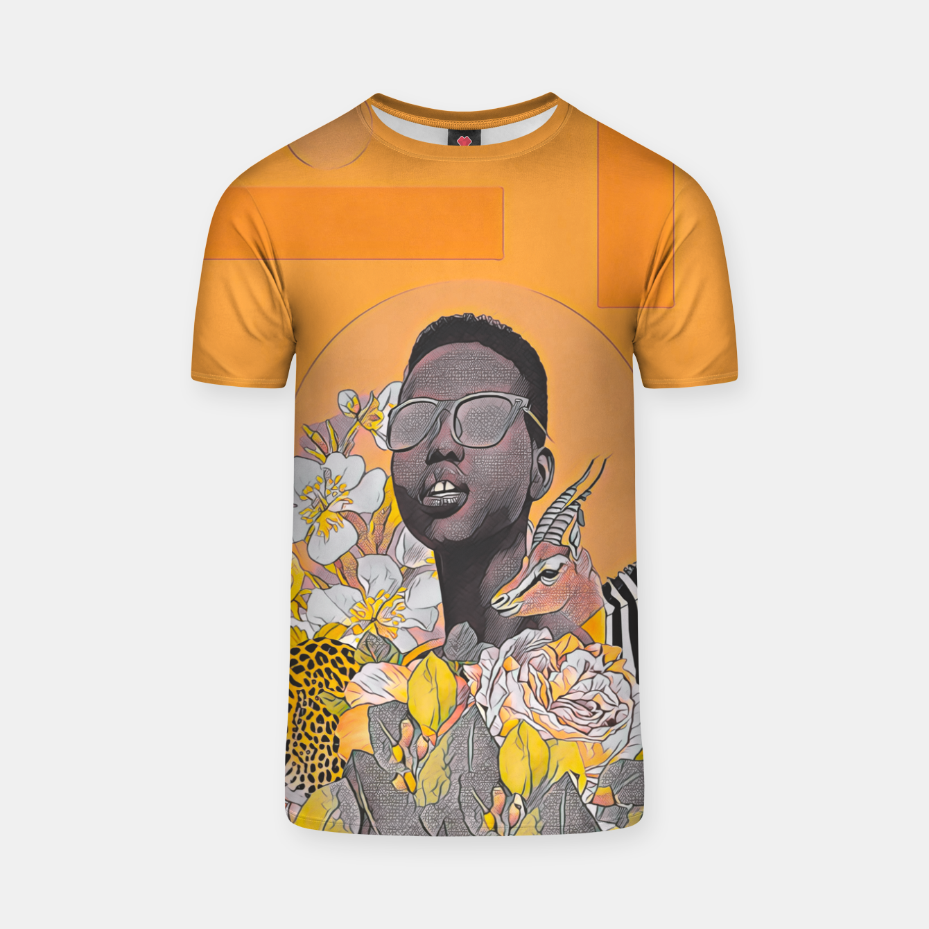 Image of IN DA JUNGLE T-shirt - Live Heroes
