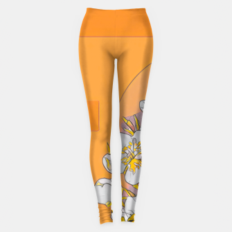 Thumbnail image of IN DA JUNGLE Leggings, Live Heroes