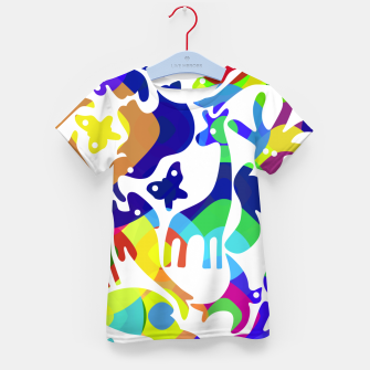 Thumbnail image of Psychedelic Kid's t-shirt, Live Heroes
