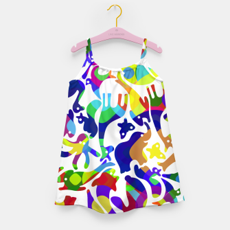 Thumbnail image of Psychedelic Girl's dress, Live Heroes