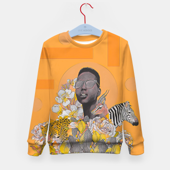 Thumbnail image of IN DA JUNGLE Kid's sweater, Live Heroes
