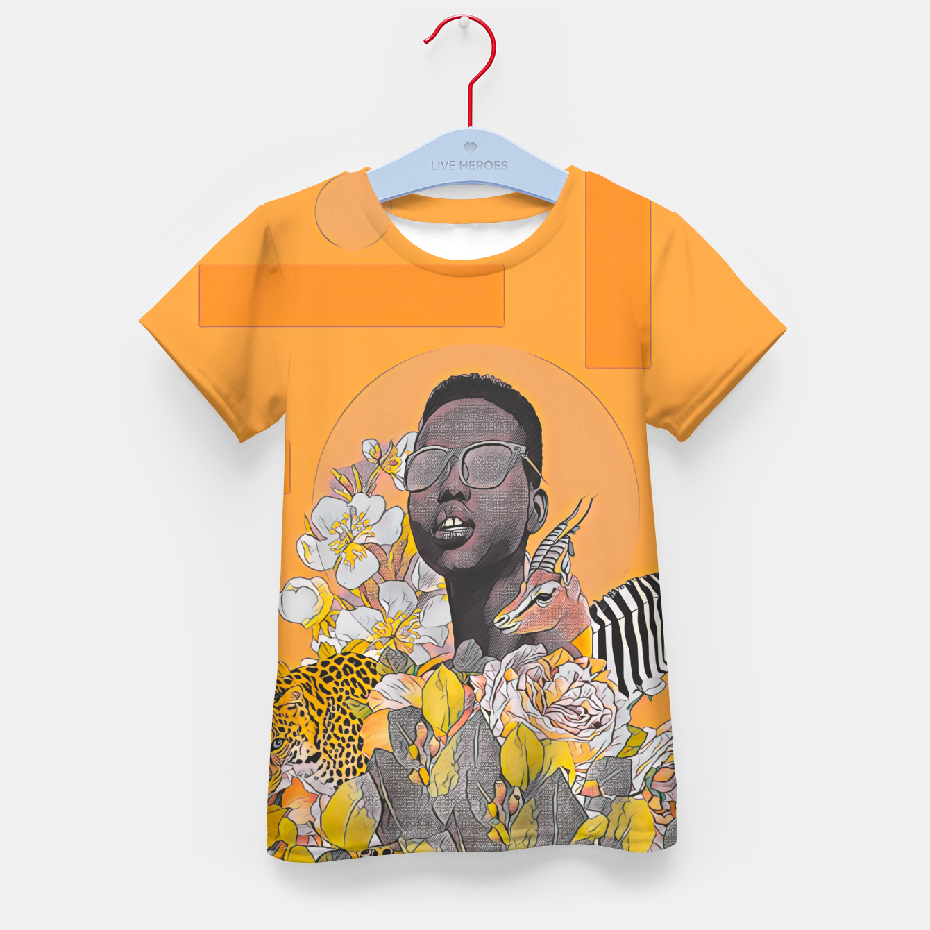 Image of IN DA JUNGLE Kid's t-shirt - Live Heroes