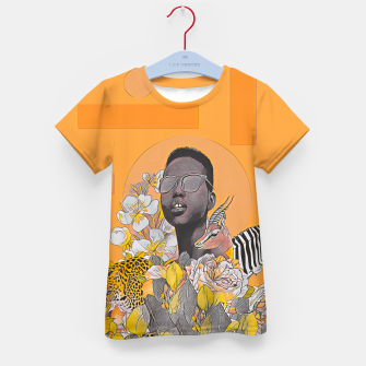 IN DA JUNGLE Kid's t-shirt thumbnail image