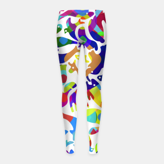 Thumbnail image of Psychedelic Girl's leggings, Live Heroes