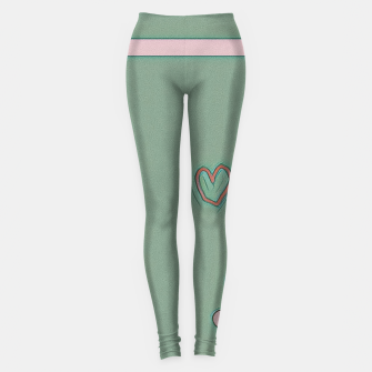 Miniatur JUNGLE LOVE Leggings, Live Heroes