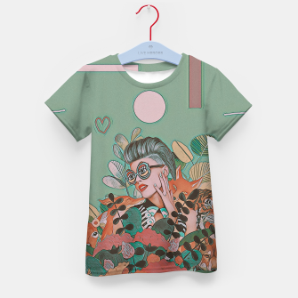 Thumbnail image of JUNGLE LOVE Kid's t-shirt, Live Heroes