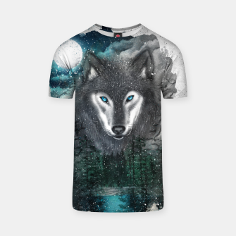 Miniatur Night of the wolf T-shirt, Live Heroes