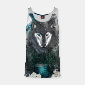 Thumbnail image of Night of the wolf Tank Top, Live Heroes