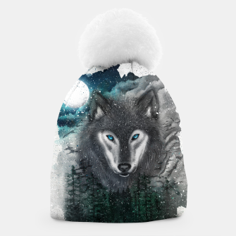 Miniatur Night of the wolf Beanie, Live Heroes