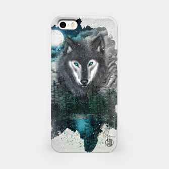 Miniatur Night of the wolf iPhone Case, Live Heroes