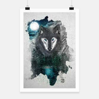 Miniatur Night of the wolf Poster, Live Heroes