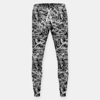 Thumbnail image of Sculpture Collage Pattern Sweatpants, Live Heroes