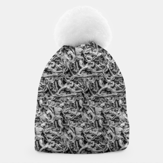 Thumbnail image of Sculpture Collage Pattern Beanie, Live Heroes