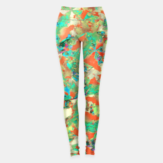 Thumbnail image of Colorful Abstract Print Leggings, Live Heroes