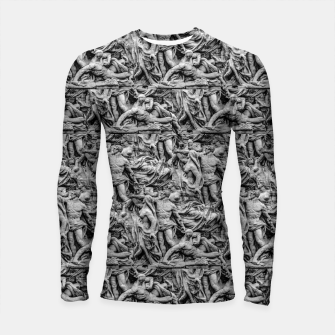 Thumbnail image of Sculpture Collage Pattern Longsleeve rashguard , Live Heroes
