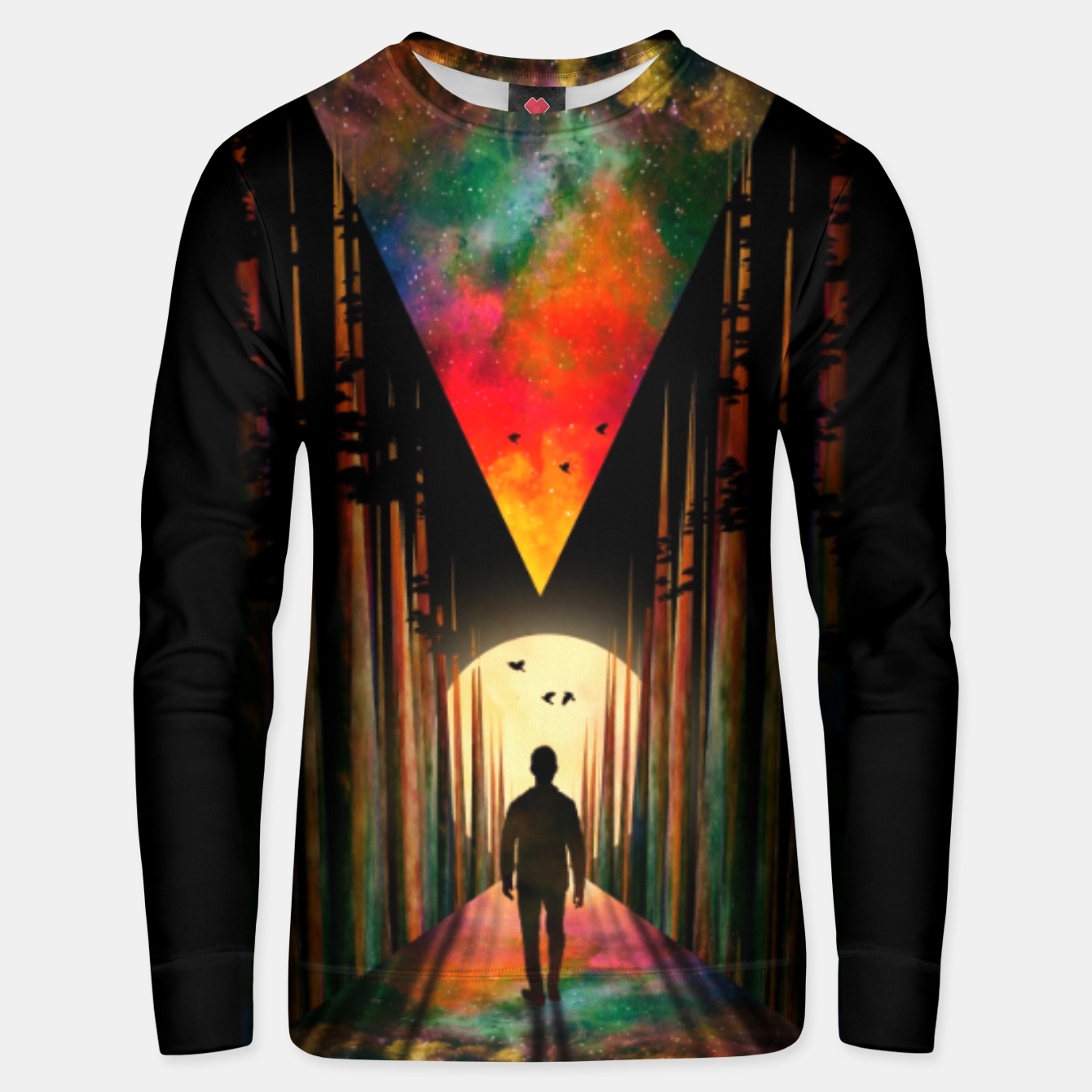 Image of Chasing Sunset Unisex sweater - Live Heroes