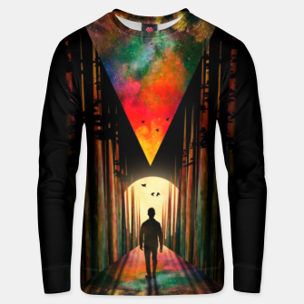 Chasing Sunset Unisex sweater thumbnail image