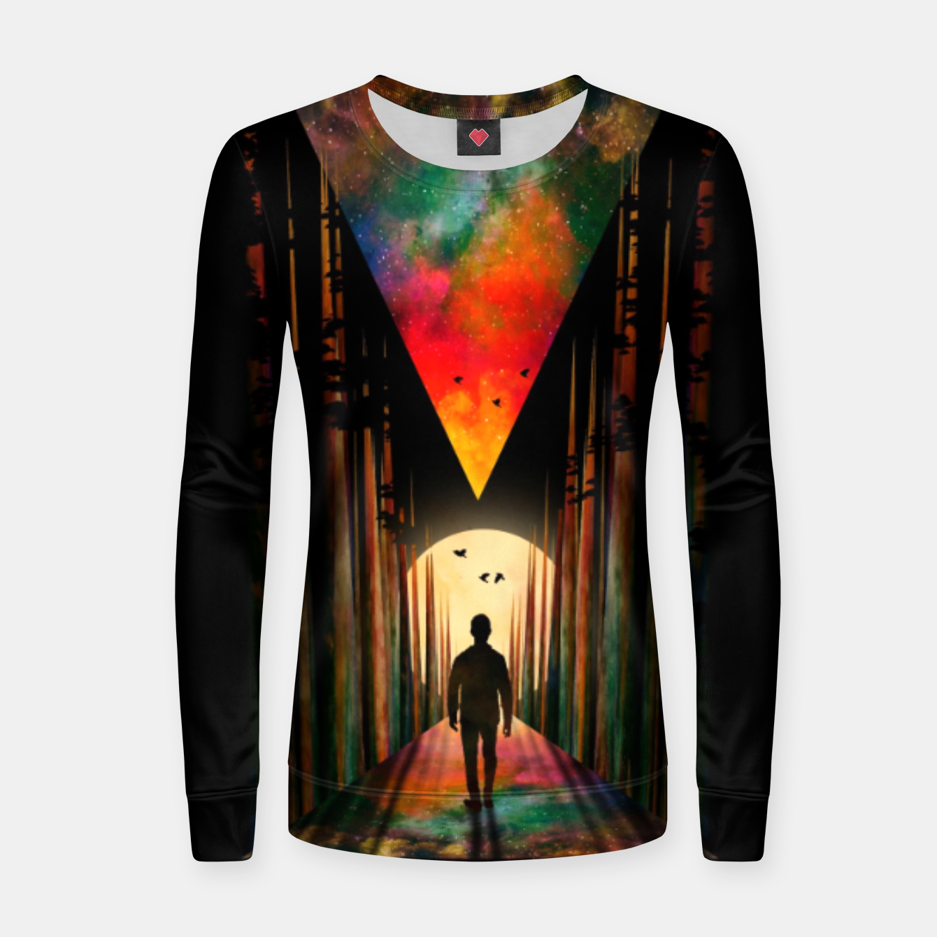 Image of Chasing Sunset Women sweater - Live Heroes