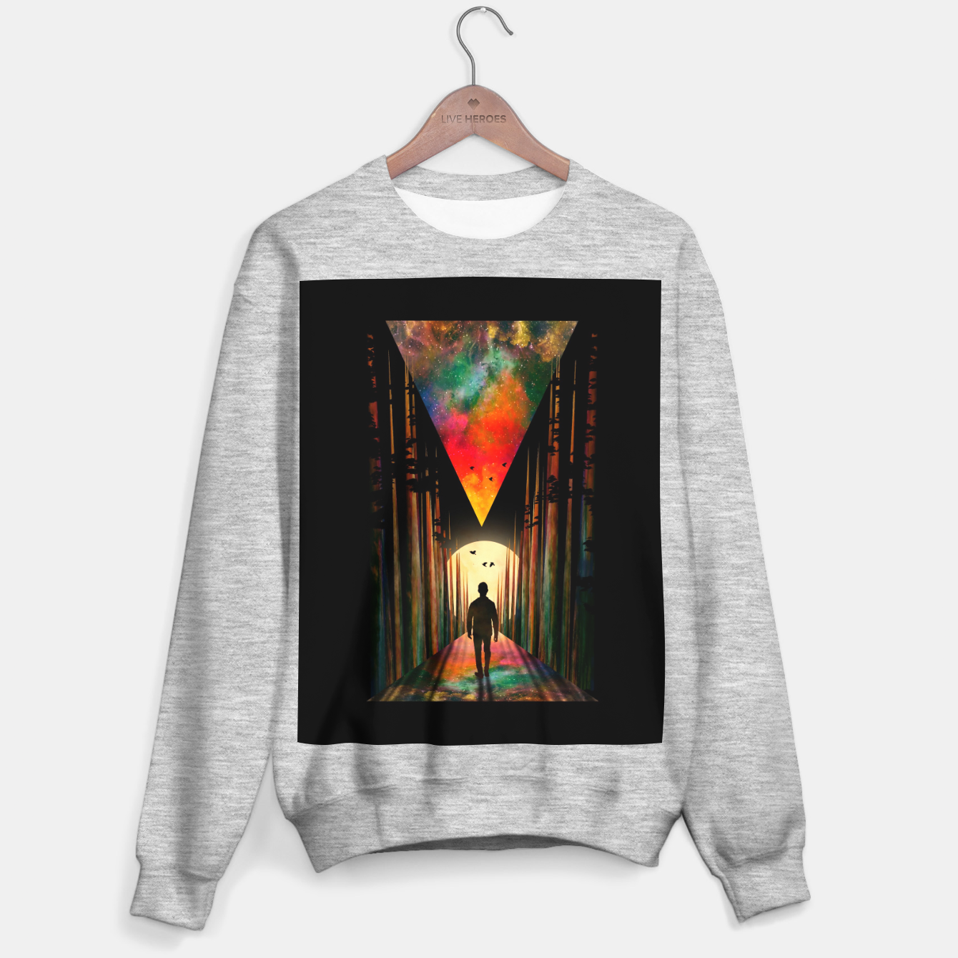 Image of Chasing Sunset Sweater regular - Live Heroes