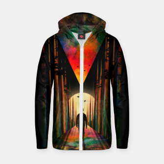 Thumbnail image of Chasing Sunset Zip up hoodie, Live Heroes