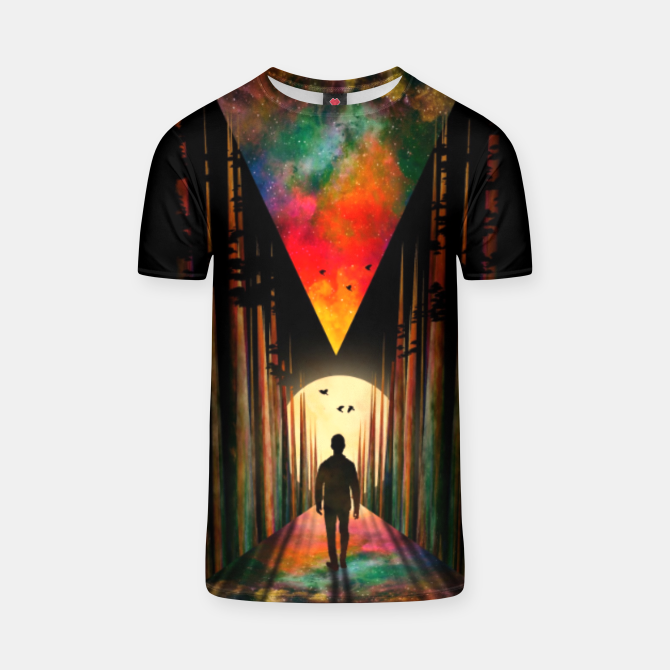 Image of Chasing Sunset T-shirt - Live Heroes