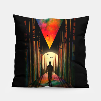 Thumbnail image of Chasing Sunset Pillow, Live Heroes