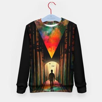 Chasing Sunset Kid's sweater thumbnail image