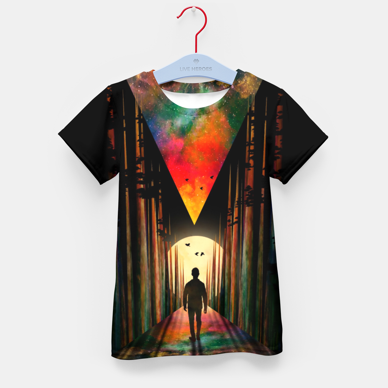 Image of Chasing Sunset Kid's t-shirt - Live Heroes
