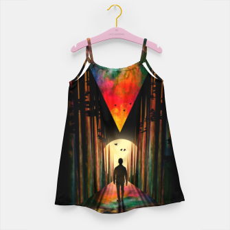 Chasing Sunset Girl's dress thumbnail image