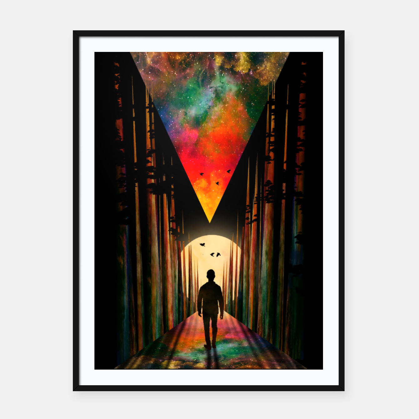 Image of Chasing Sunset Framed poster - Live Heroes