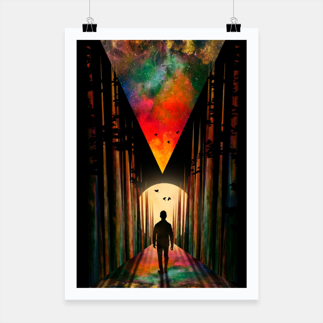 Image of Chasing Sunset Poster - Live Heroes