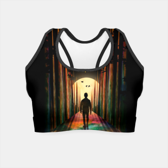 Thumbnail image of Chasing Sunset Crop Top, Live Heroes