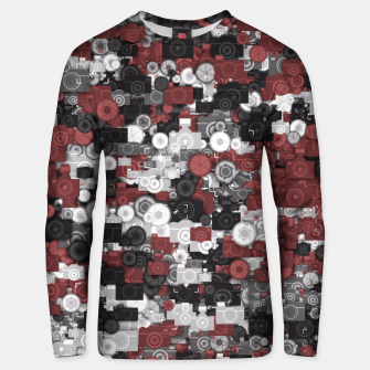 Miniaturka Photographer's camouflage Unisex sweater, Live Heroes