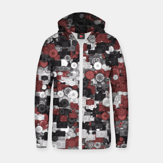 Thumbnail image of Photographer's camouflage Zip up hoodie, Live Heroes