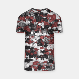 Miniaturka Photographer's camouflage T-shirt, Live Heroes
