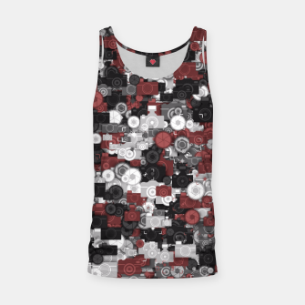 Miniaturka Photographer's camouflage Tank Top, Live Heroes