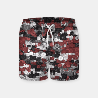 Miniaturka Photographer's camouflage Swim Shorts, Live Heroes