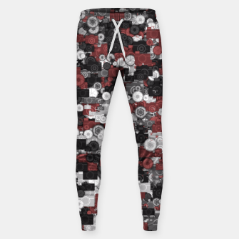 Thumbnail image of Photographer's camouflage Sweatpants, Live Heroes