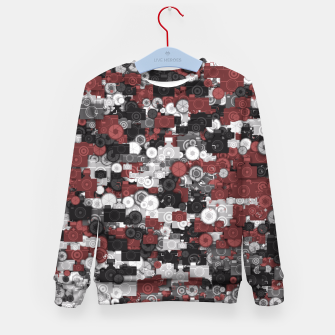 Miniaturka Photographer's camouflage Kid's sweater, Live Heroes