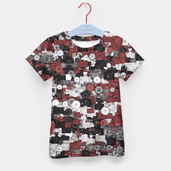 Miniaturka Photographer's camouflage Kid's t-shirt, Live Heroes