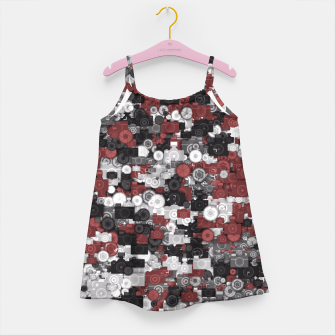 Miniaturka Photographer's camouflage Girl's dress, Live Heroes